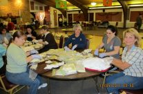 Making Birthing Kits 2011