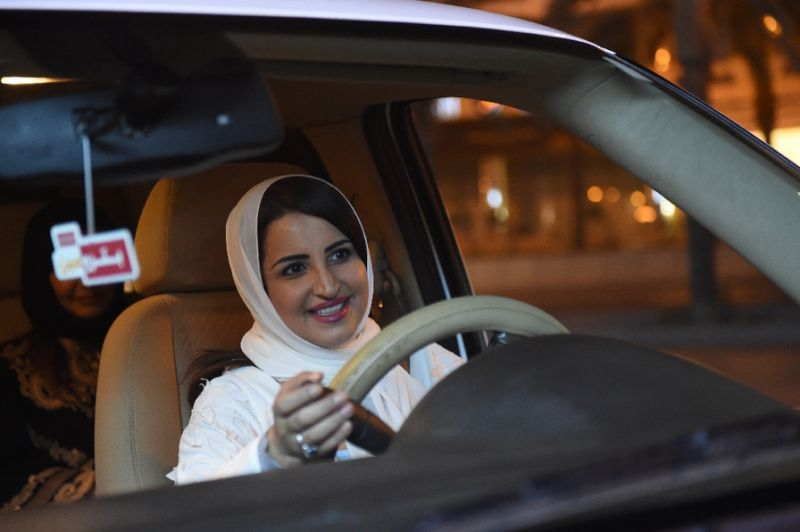 Women Driving in Riyadh